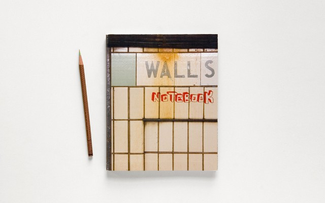 Ежедневник Walls Notebook от Think of the